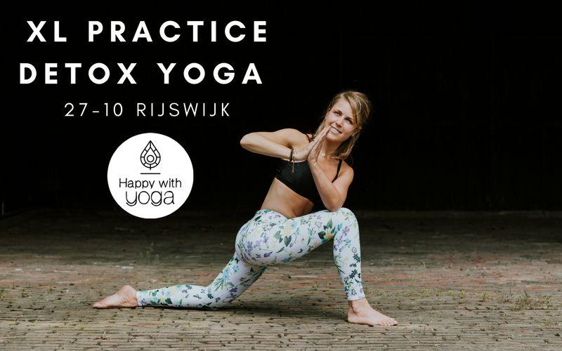 Detox Yoga practice